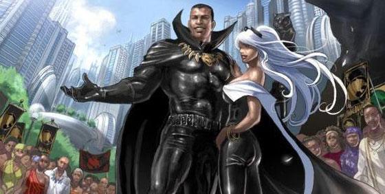 Black Comic Header