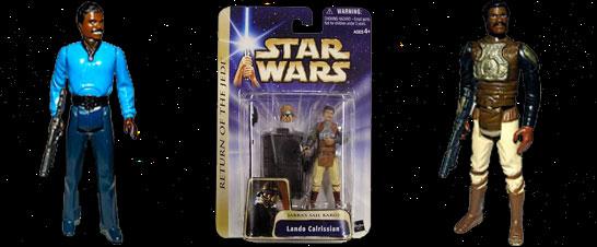 Lando Calrissian Action Figures