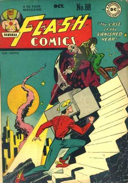 Flash Comics 88 Gentleman Ghost