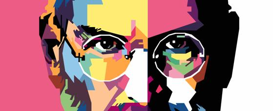 Steve Jobs Pop Art Banner