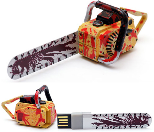 Chain Saw USB Flash Drive