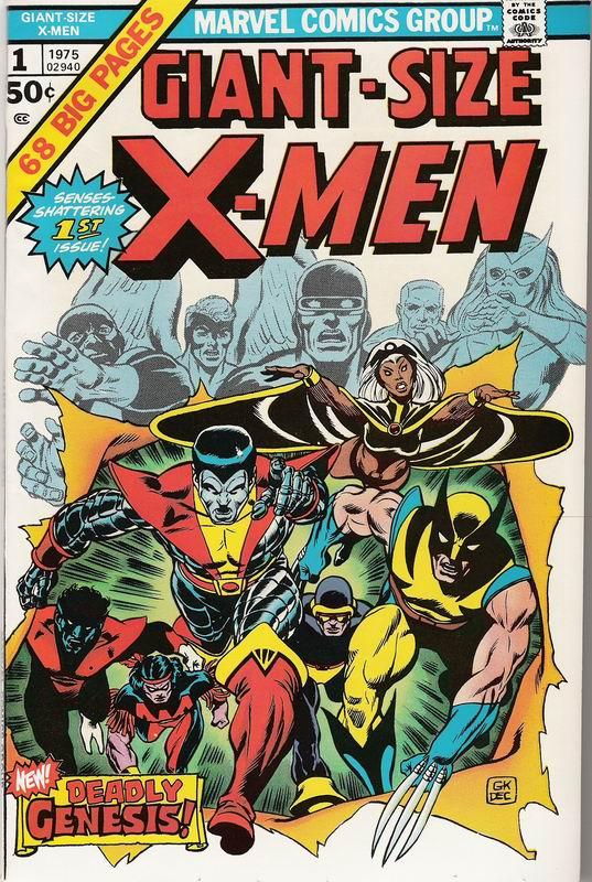 Giant Size X Men 1 Marvel 1975