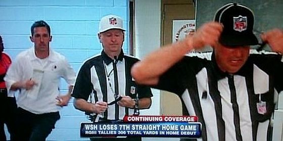 Kyle Shanahan Chases Ref 1