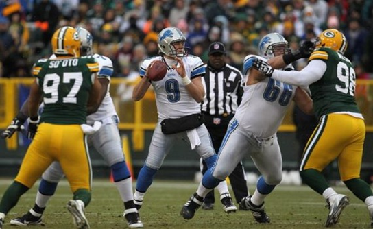Matthew Stafford Detroit Lions 520 Yards