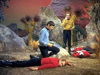 Redshirt characters from Star Trek