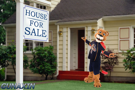 Florida Panthers Mascot Stanley Real Estate Agent
