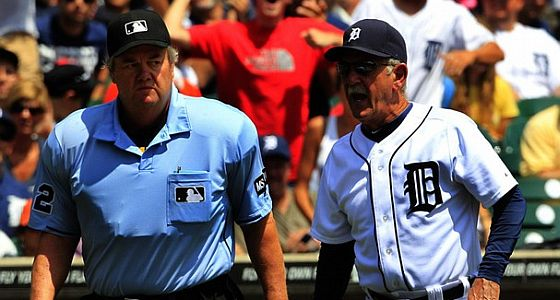 Joe West Jim leyland