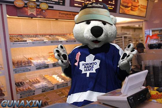 Toronto Mascot Calrton Tim Hortons2