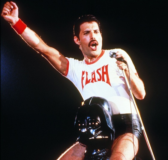 freddie flash mercury and darth vader