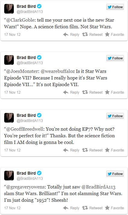 Brad Bird Twitter