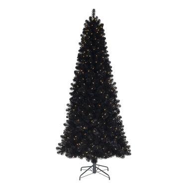 Black Artificial Xmas Tree 2