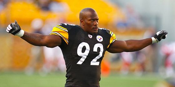 James Harrison header