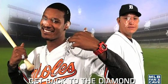 MLB diamonds parody