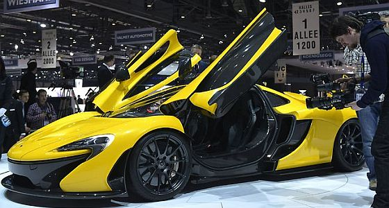 Geneva Motor Show header