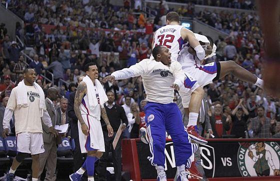 Clippers celebrate