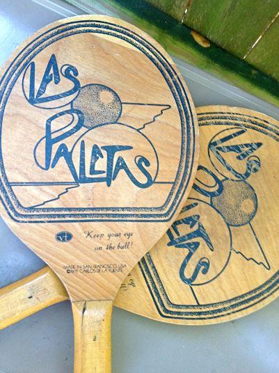 ping pong paddles 1970s