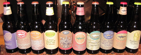 Dogfish Head Brews