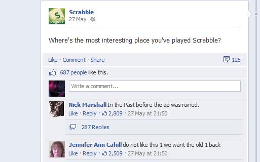 scrabbble