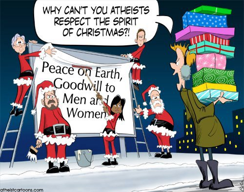christmas 5 atheist