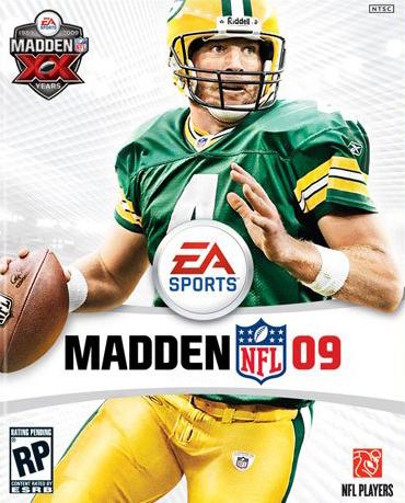 Madden NFL 09 Coverart