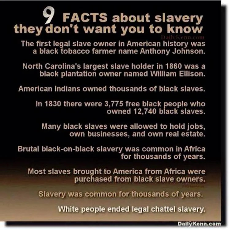 9 Facts About Slavery