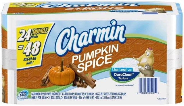 Image result for pumpkin spice toilet paper