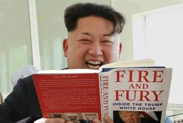 FACT CHECK Is This Kim Jong Un Reading Fire And Fury