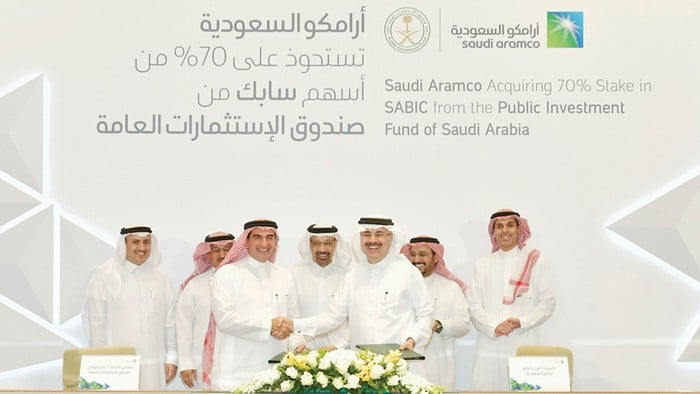 Saudi Aramco Acquires Majority Stake in SABIC in $69.1 Billion Deal