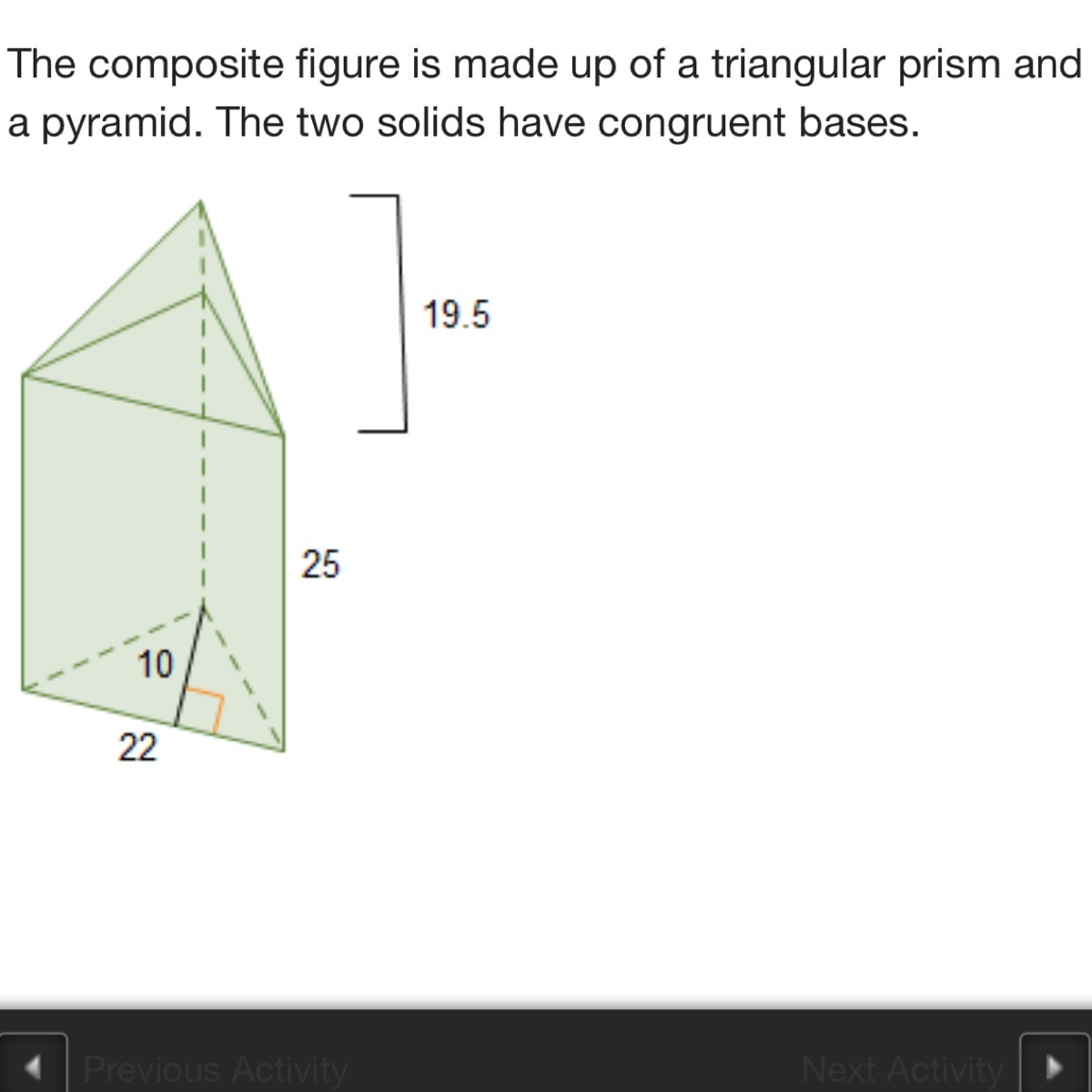 What Is The Volume Of The Composite Figure