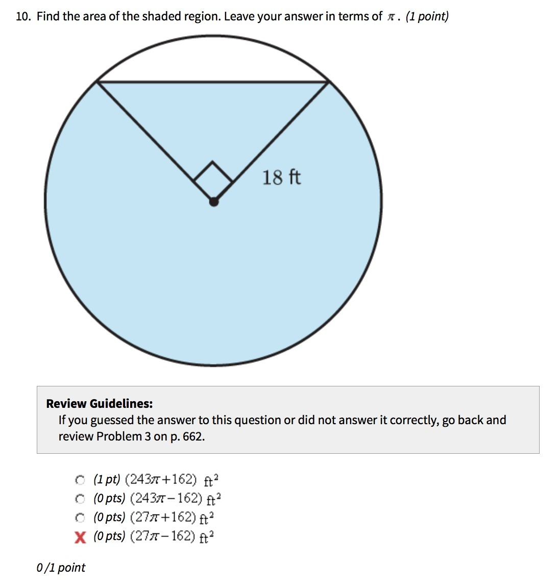 20 Points Explain Your Answer Find The Area Of The