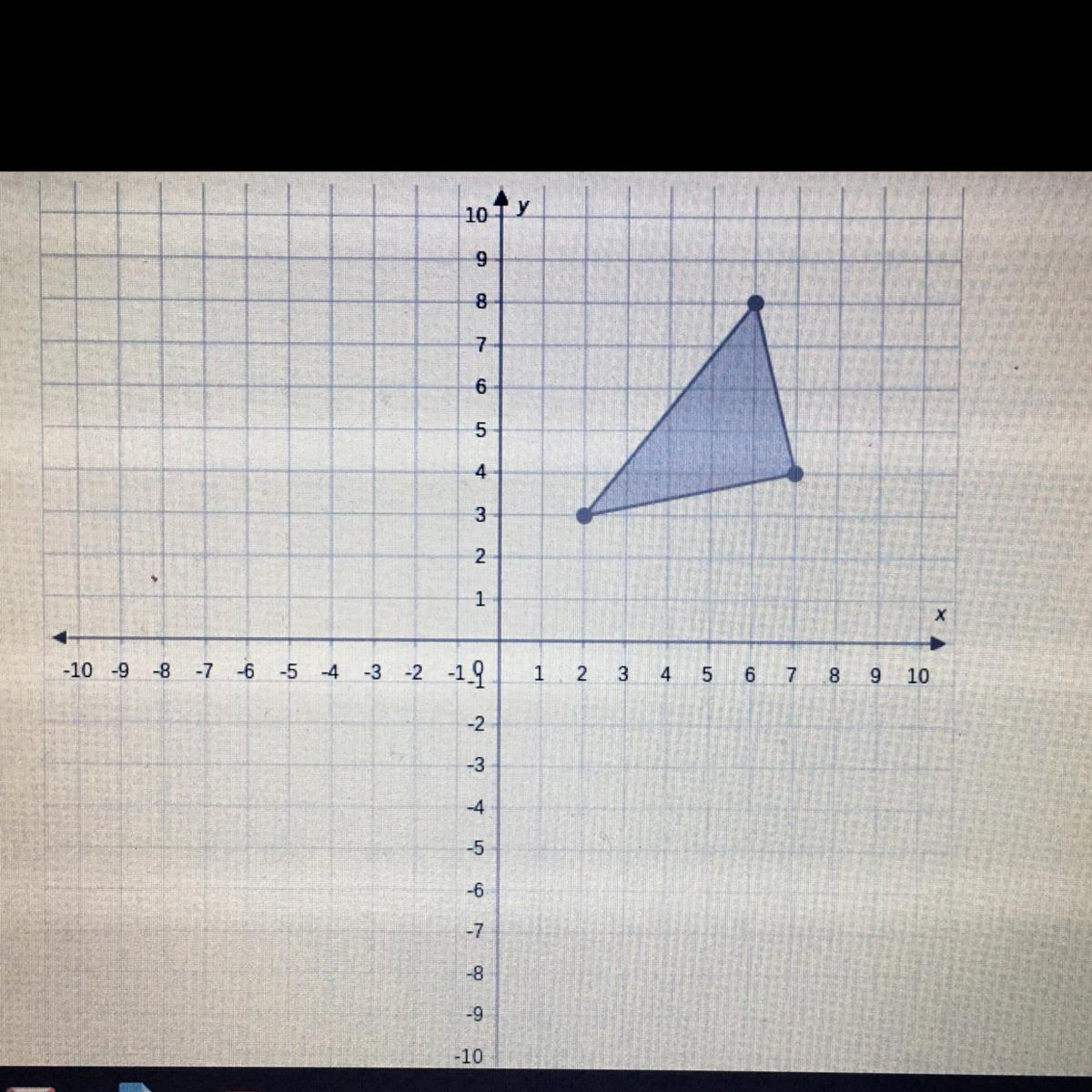 Graph The Image Of The Given Triangle After The