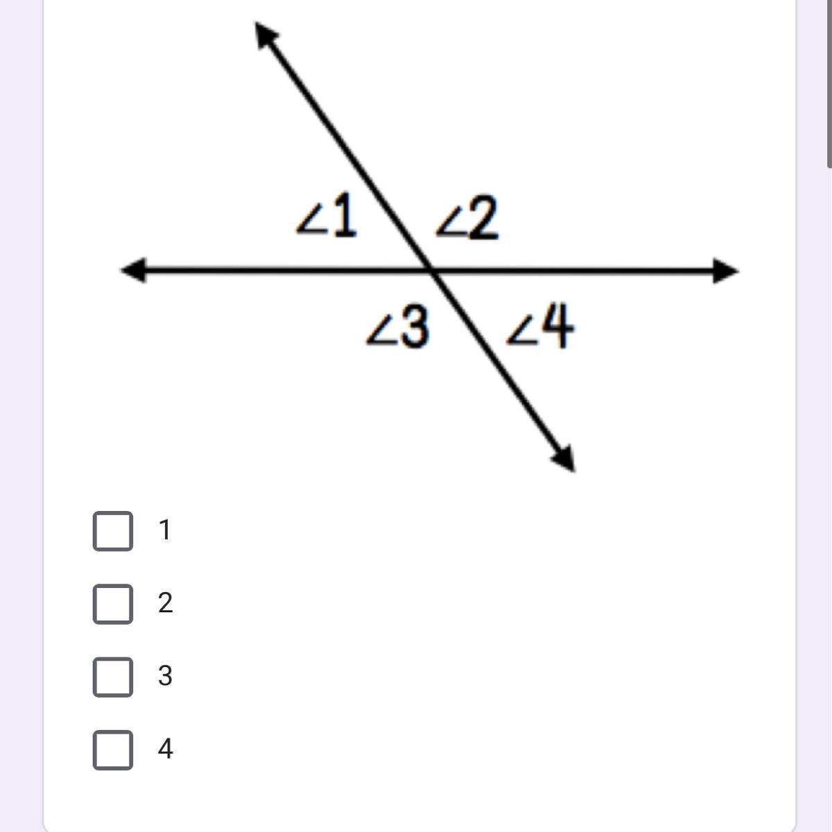 Which Angles Are Adjacent Angles To 3 Select All That