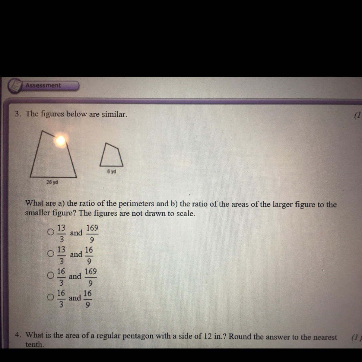 What Are A The Ratio Of The Perimeter S B And The Ratio