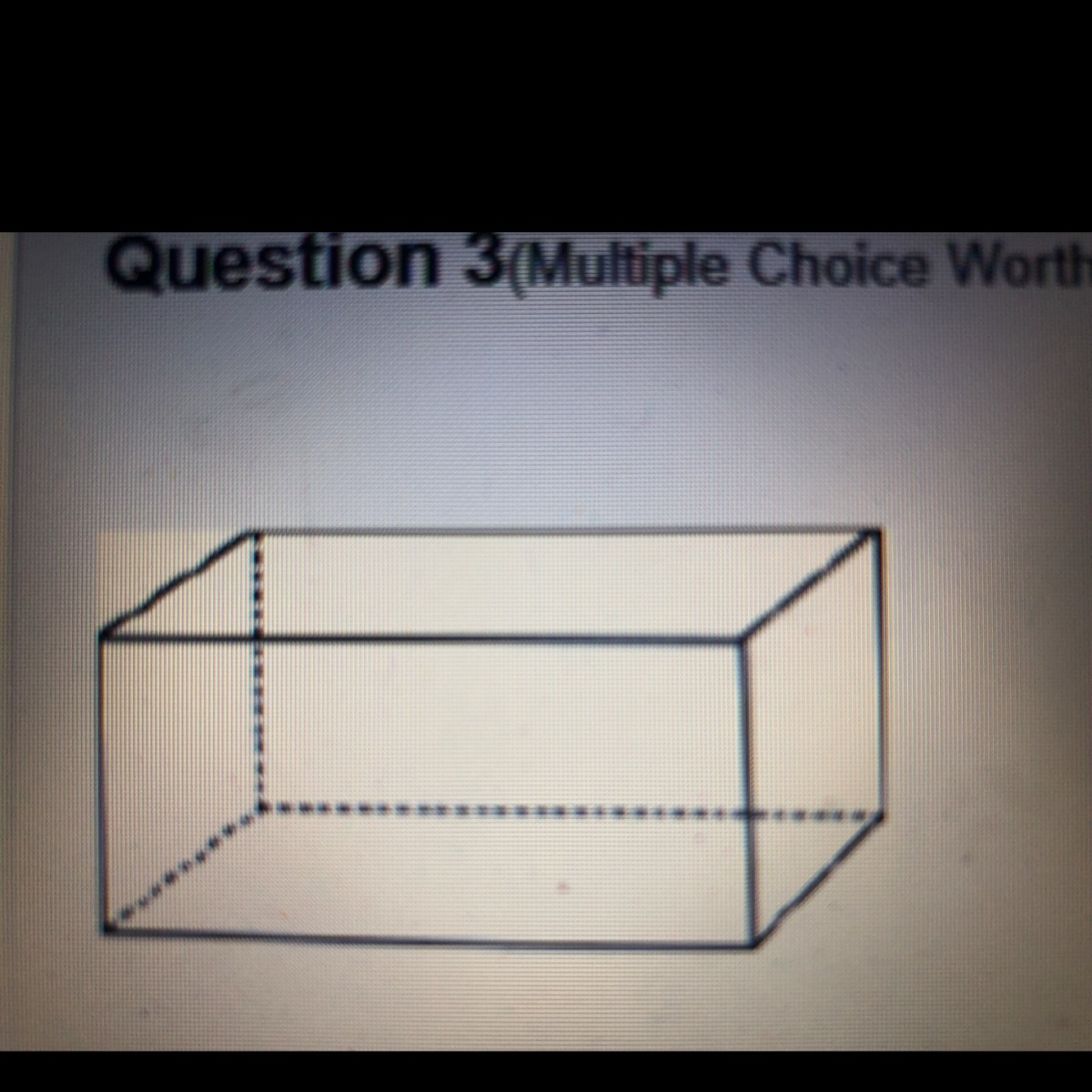 What Shape Best Describes The Cross Section Cut Parallel