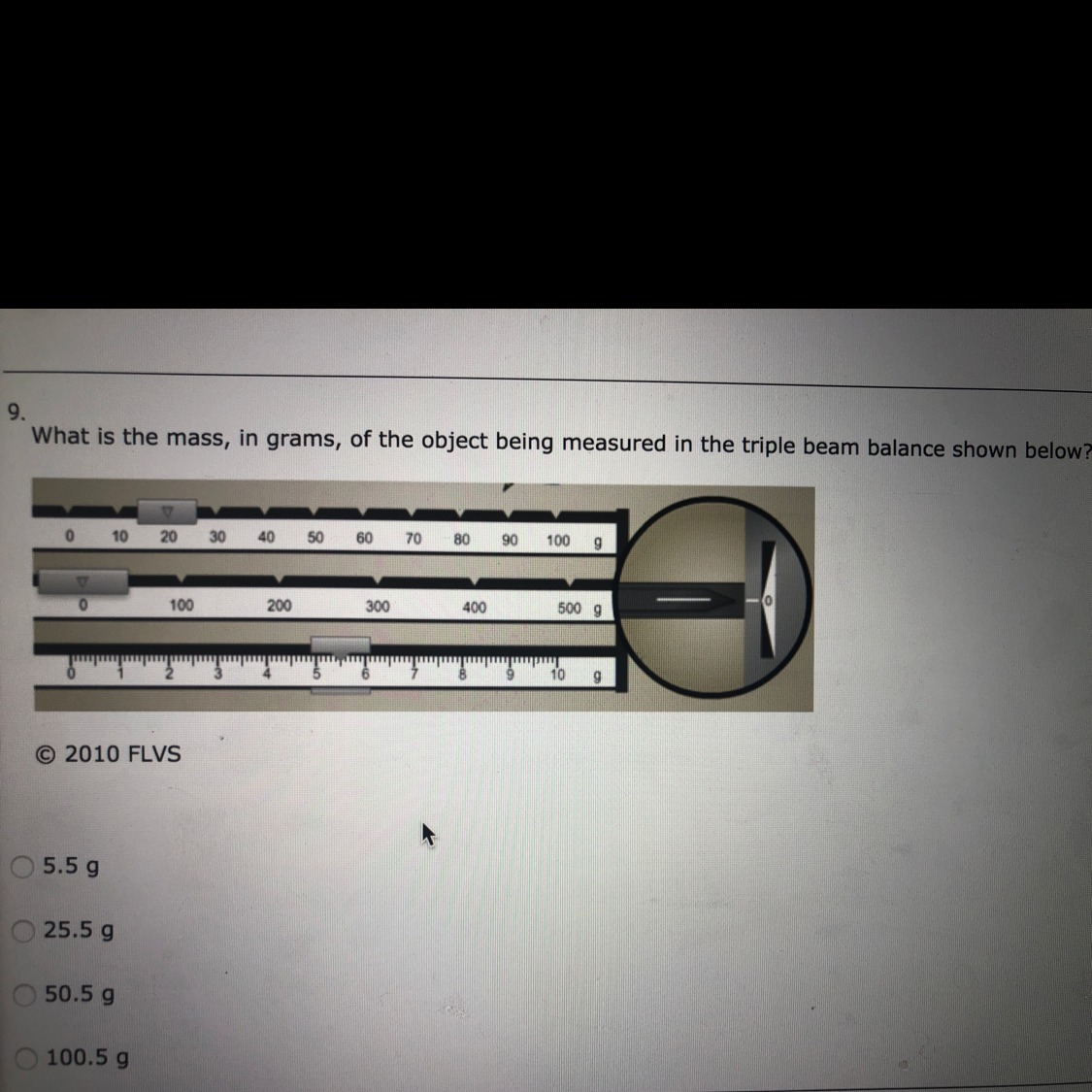 What Is The Mass In Grams Of The Object Being Measured