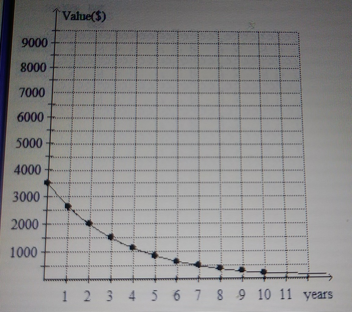 The Exponential Decay Graph Shows The Expected
