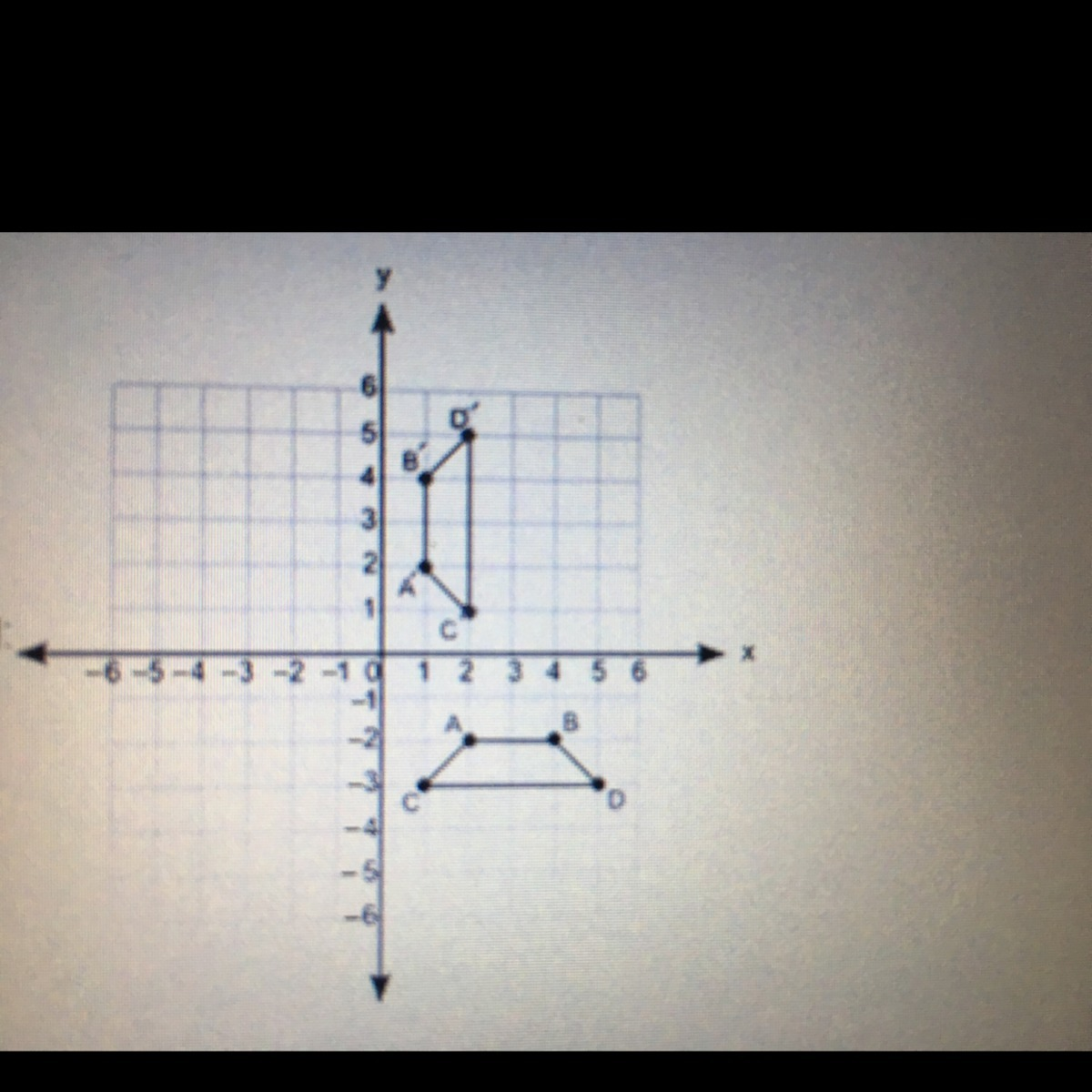 Please Help 10 Points 1 Polygons Abcd And A B C D Are
