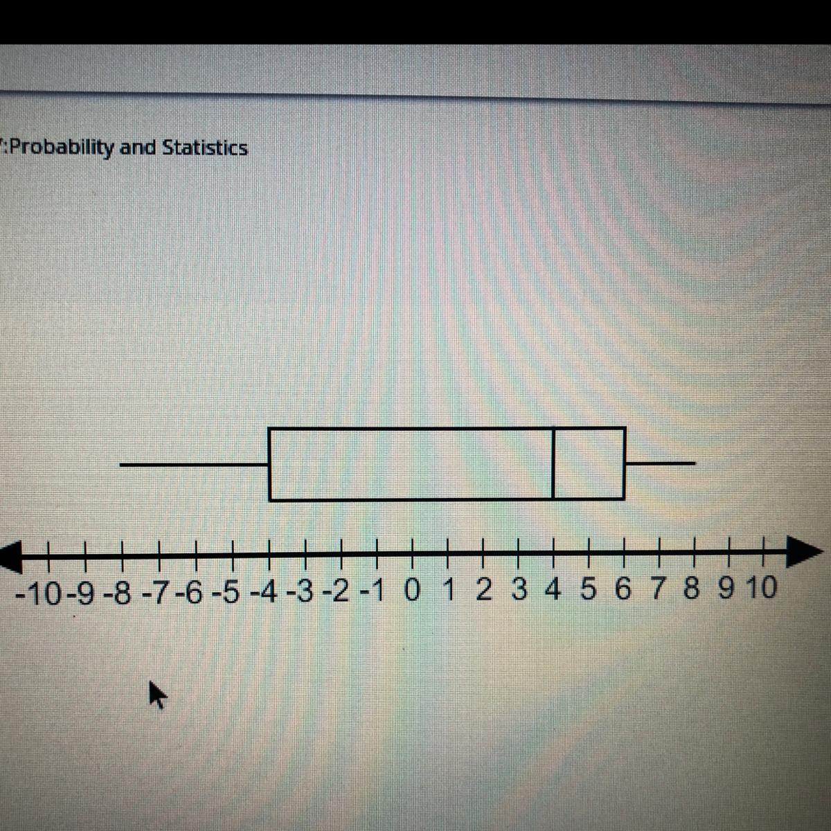 Using The Box And Whisker Plot Shown Find The Quartile