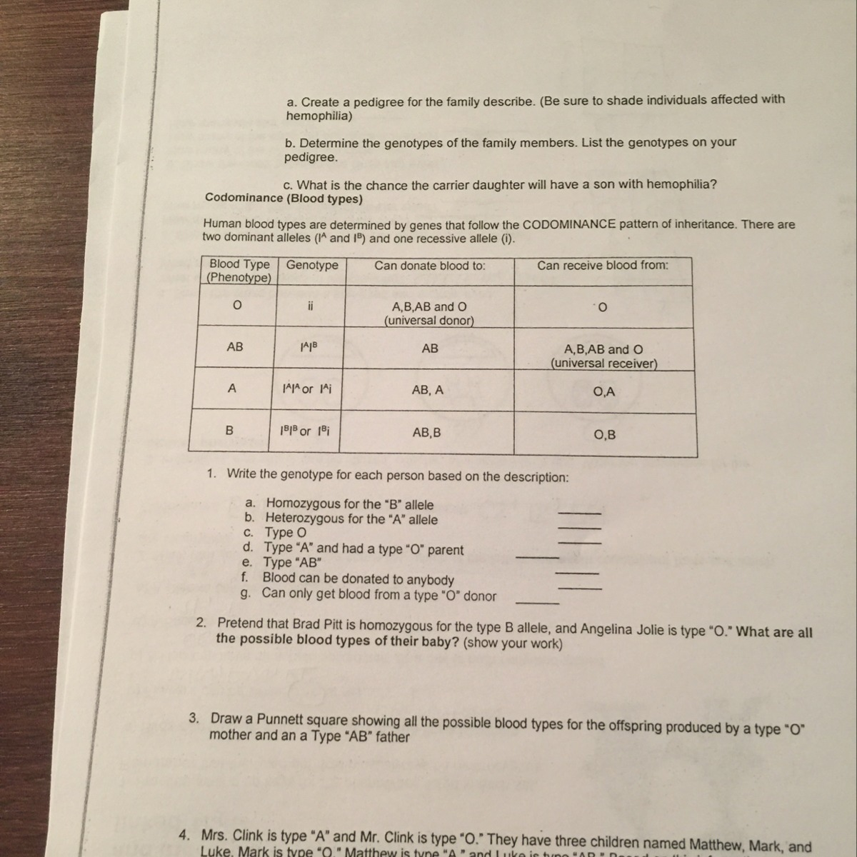 How Do I Find The Homozygous For The B Allele