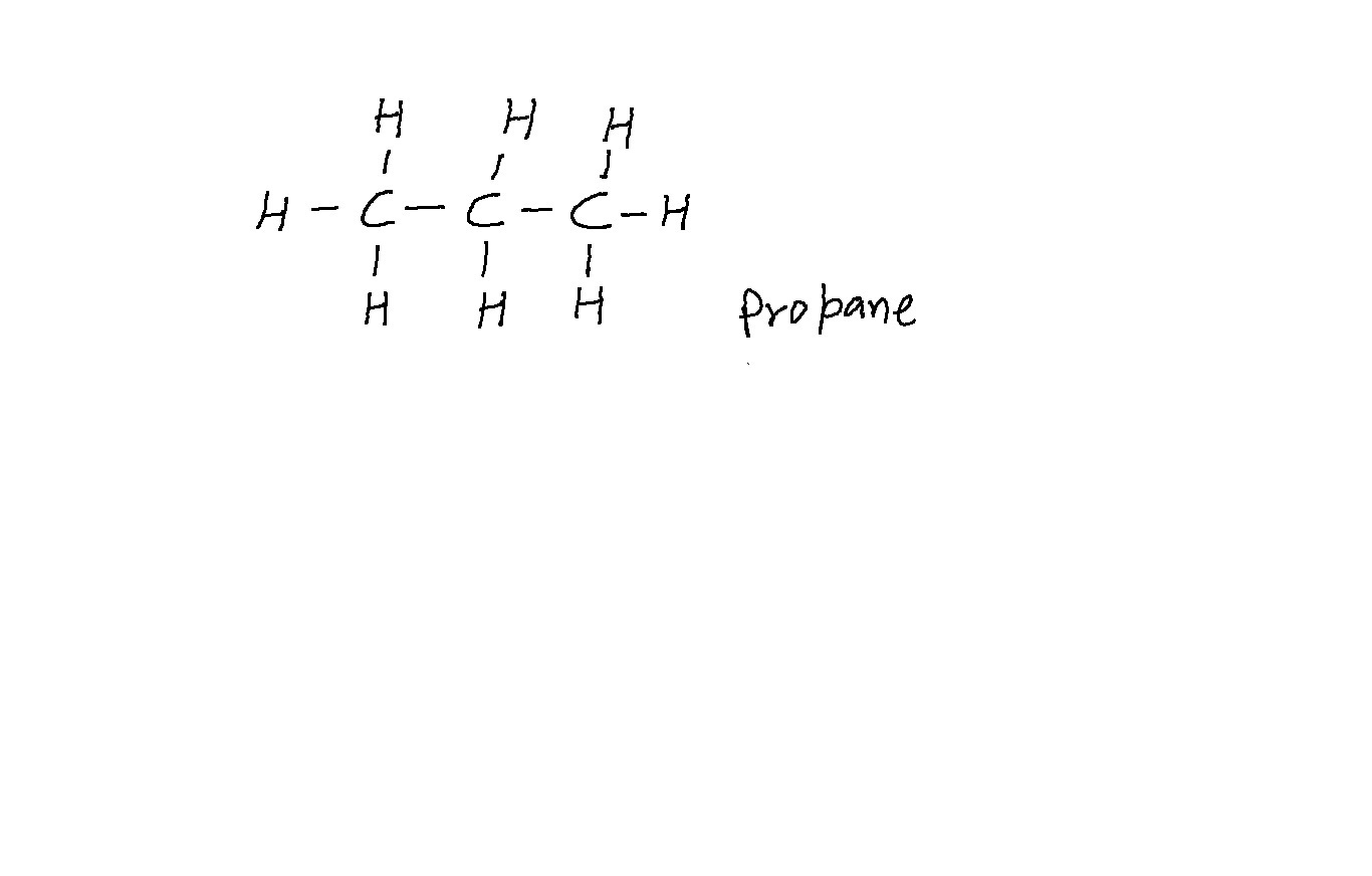In An Electron Dot Diagram Of Propane C3h8 How Many
