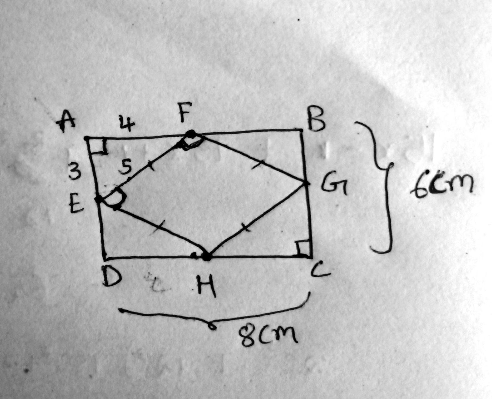 Given The Rectangle Below With Length 8 And Width 6 A