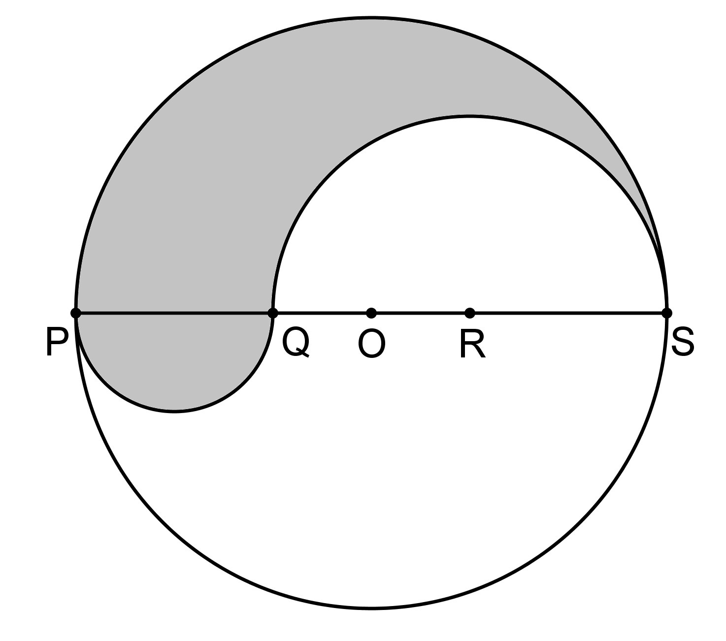 Pqrs Is A Diameter Of A Circle Of Radius 6cm The Lengths