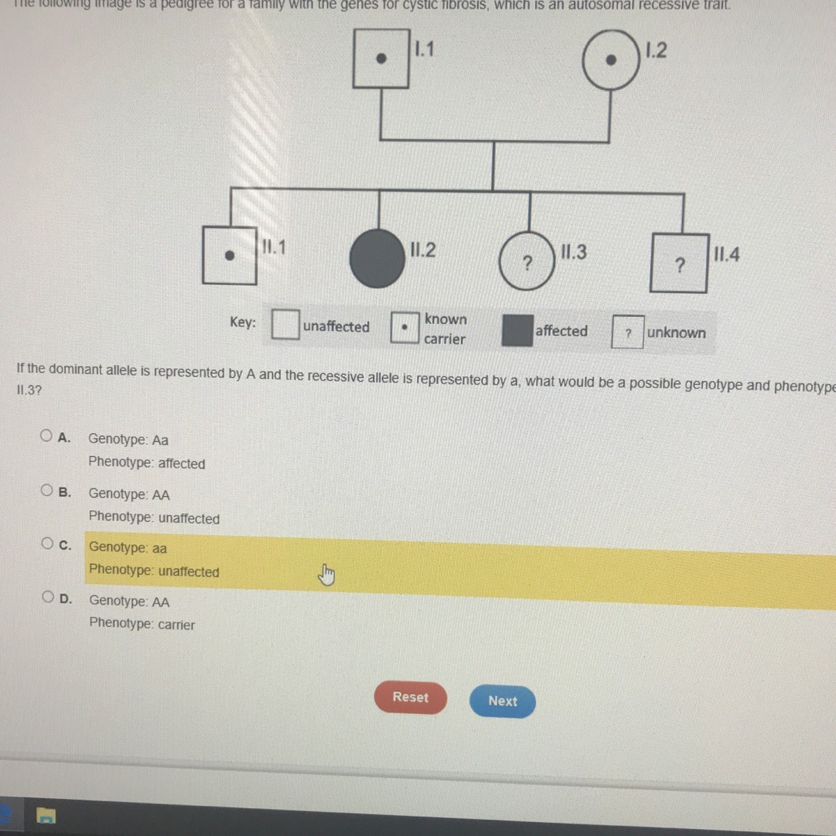 Help Me Please If The Dominant Allele Is Represented