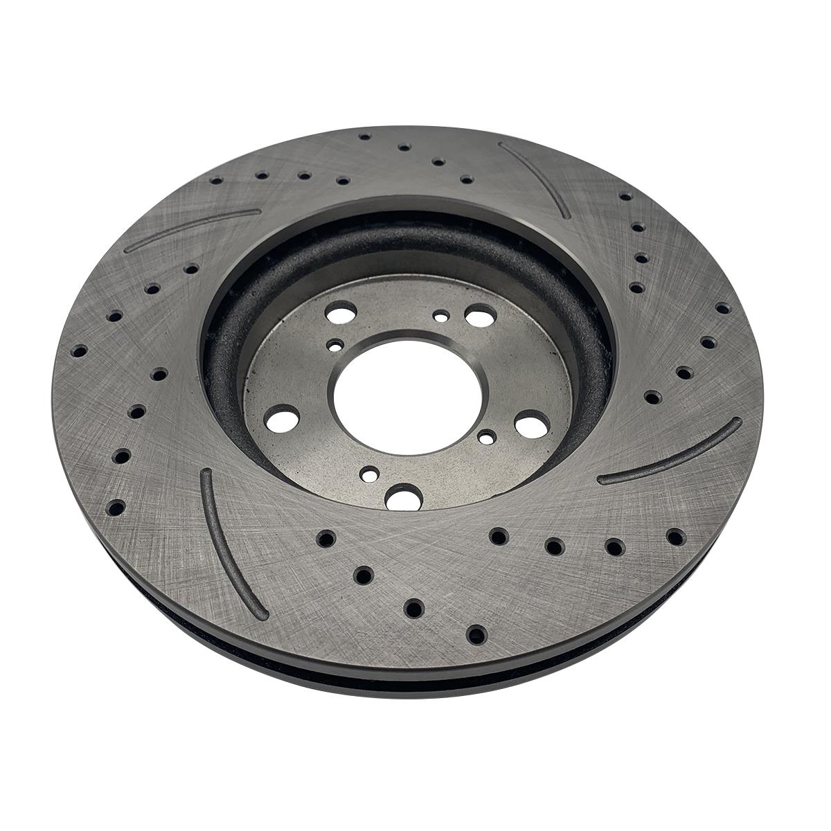 For Honda Odyssey 2pc Front Brake Disc Rotors For