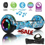 Bluetooth Hoverboard Ul Certified 6 5 Self Balancing Electric Scooter No Bag Ebay