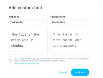 add custom font 2