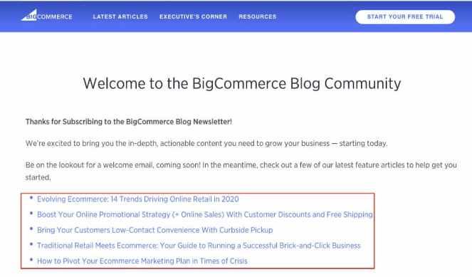 BigCommerce blog.