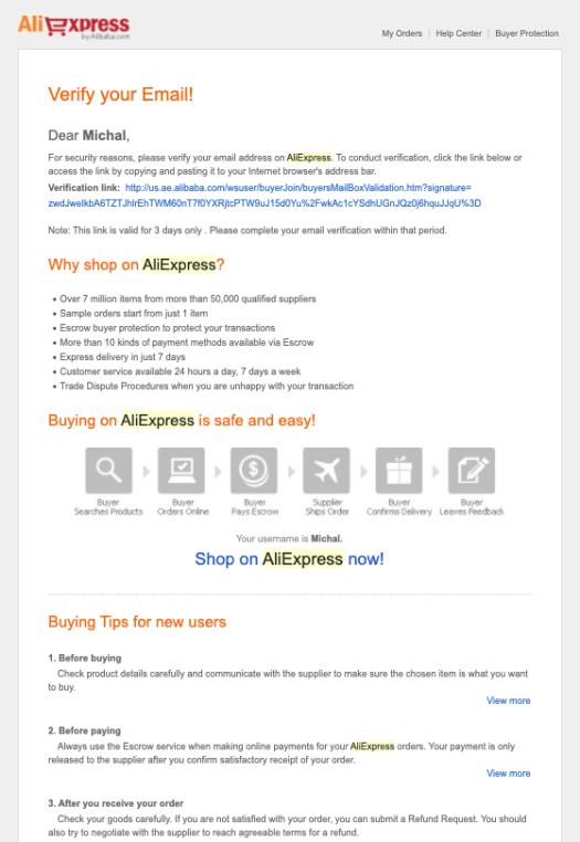 Email Marketing: Modèles d'e-mail de confirmation - 12 exemples + conseils