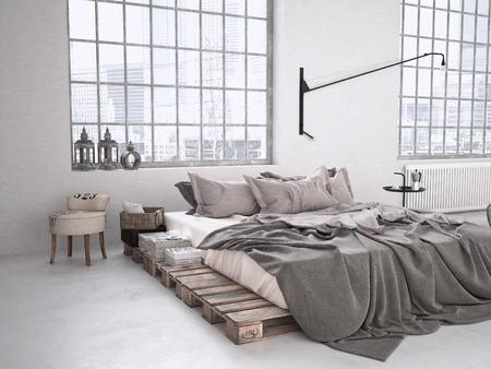 Download Modern Industrial Bedroom Pics