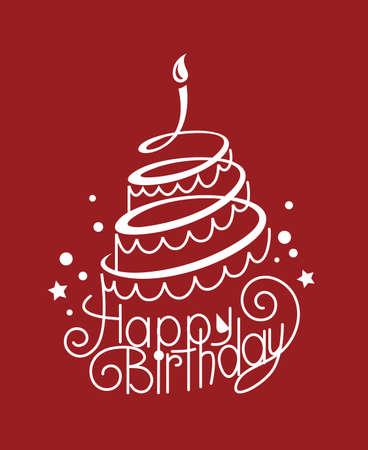 birthday cake Stock Photo - 18354057